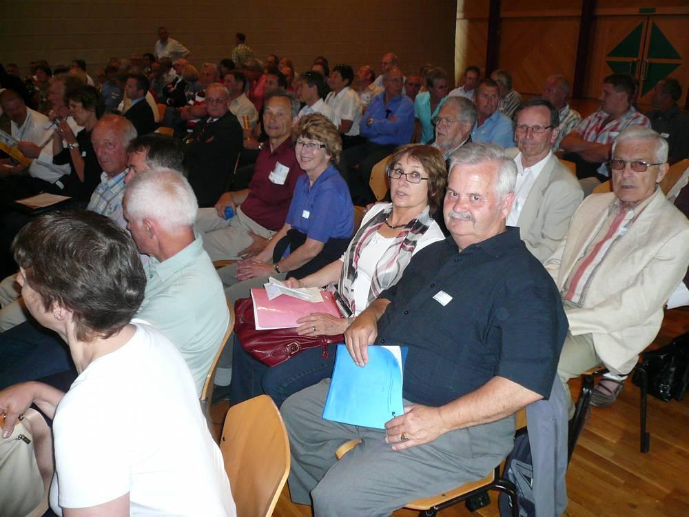 Delegierte vor der GV