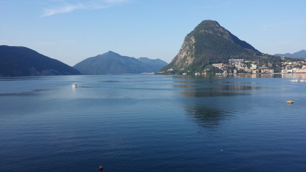 Sicht auf den Lago di Lugano
