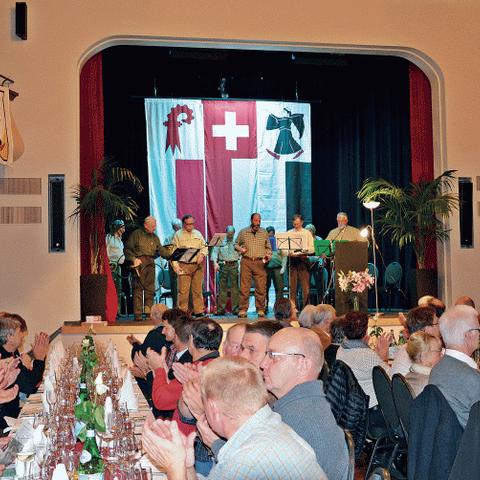 Jubiläumsfeier, 7. November 2014. Vergrösserte Ansicht
