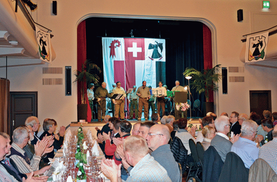 Jubiläumsfeier, 7. November 2014