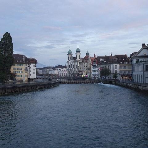 Kapellbrücke Luzern. Vergrösserte Ansicht