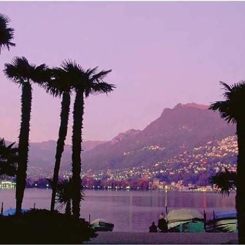 Lago di Lugano. Vergrösserte Ansicht