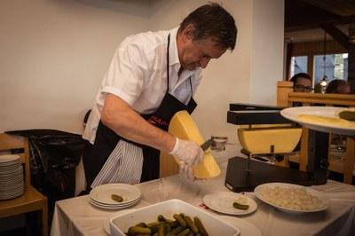 Raclette nach Walliser Art
